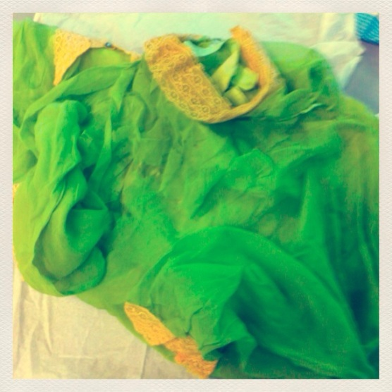 The 'Tinkerbell' dress