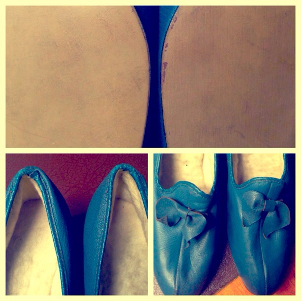 Blue slippers differences