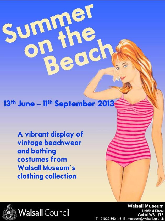 Summer on the Beach Poster