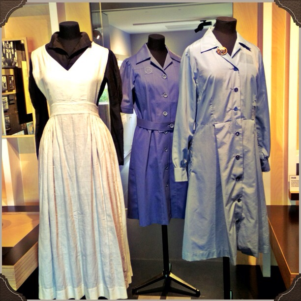 M&S staff uniforms from the first half of the twentieth century
