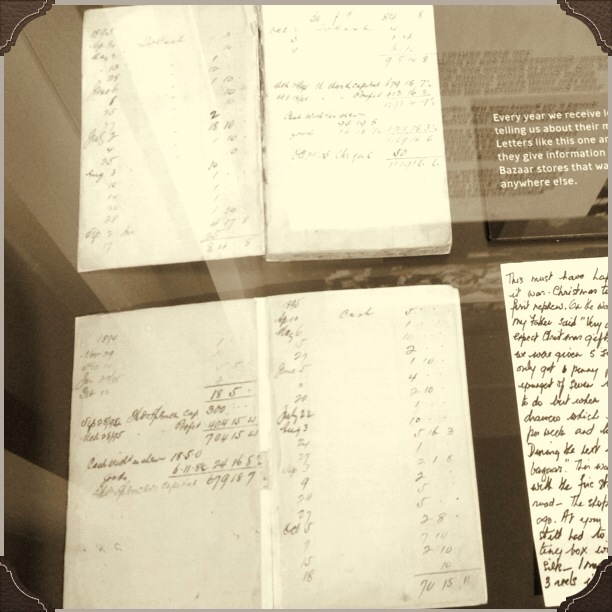 The notebooks detailing Tom Spencer's initial £300 investment