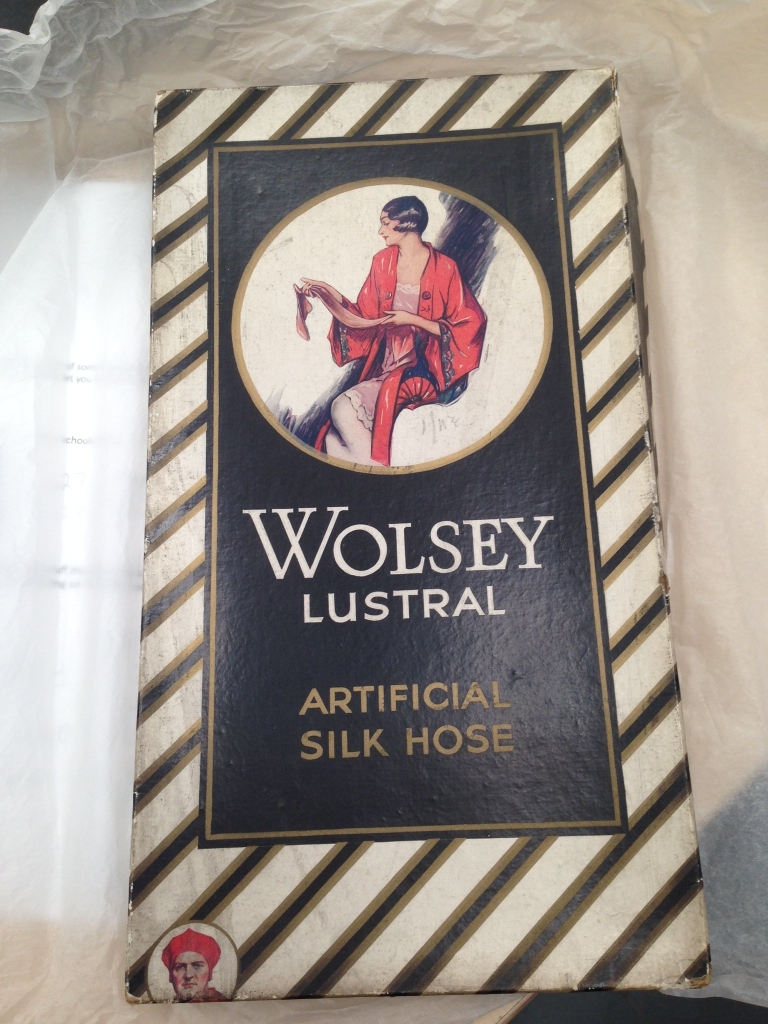 Wolsey Stockings Flapper Packaging Vintage Stockings